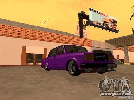 VAZ 2107 JDM für GTA San Andreas Rückansicht