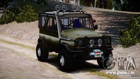 UAZ 31514 commandant v1.0 pour GTA 4 Vue arrière