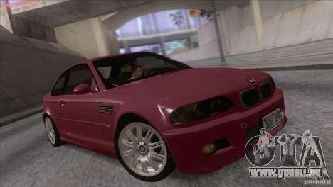 BMW M3 E48 für GTA San Andreas