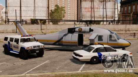 United States Department of Homeland Security pour GTA 4