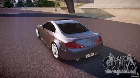 Infiniti G35 v1.0 für GTA 4 hinten links Ansicht