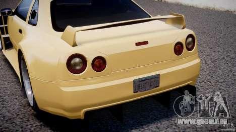 Nissan Skyline R34 v1.0 pour GTA 4