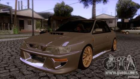 Subaru Impreza 22 pour GTA San Andreas