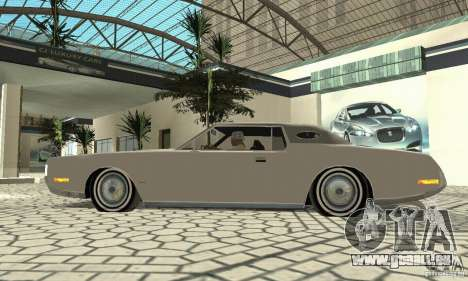 Lincoln Continental Mark IV 1972 pour GTA San Andreas vue arrière