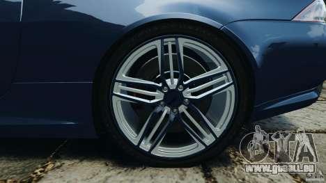 Jaguar XKR-S Trinity Edition 2012 v1.1 pour GTA 4 vue de dessus