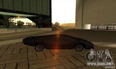 Dodge M4S Turbo Interceptor Wraith 1984 für GTA San Andreas linke Ansicht