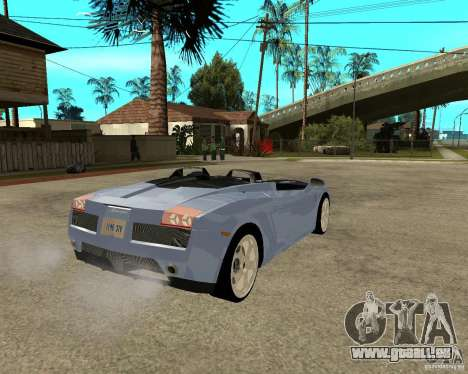 Lamborghini Concept-S für GTA San Andreas zurück linke Ansicht