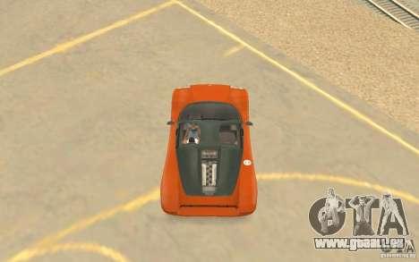 Veloche Auto für GTA San Andreas Seitenansicht