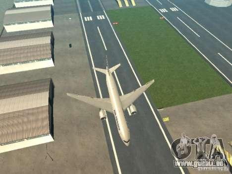 Boeing 777-200 Air France für GTA San Andreas Innenansicht