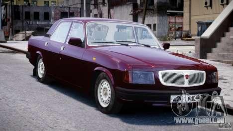 GAZ Volga 3110 pour GTA 4 Vue arrière