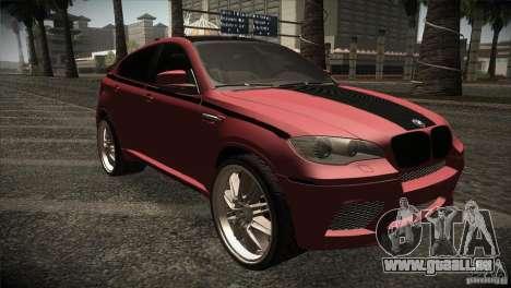 BMW X6 Lumma pour GTA San Andreas vue intérieure