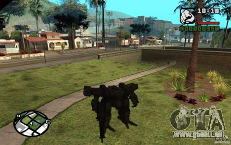 Exoskelett für GTA San Andreas