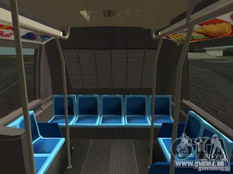 GMC RTS MTA New York City Bus für GTA San Andreas obere Ansicht