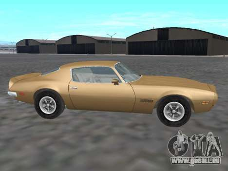 Pontiac Firebird Trans Am 1970 für GTA San Andreas linke Ansicht