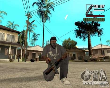 Millenias Weapon Pack für GTA San Andreas achten Screenshot