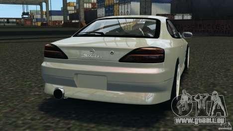Nissan Silvia S15 Drift pour GTA 4 Vue arrière de la gauche