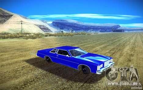 Ford LTD Coupe 1975 pour GTA San Andreas vue arrière