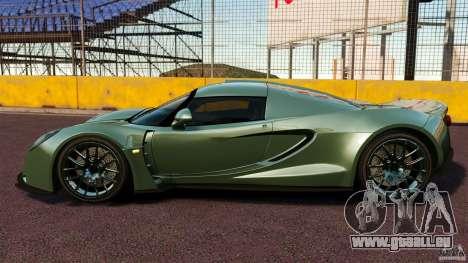 Hennessey Venom GT 2010 [EPM] pour GTA 4 est une gauche