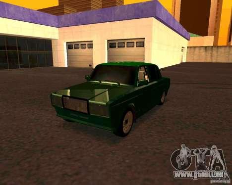 VAZ 2107 Hobo v. 1 für GTA San Andreas