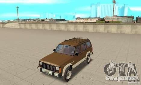 Jeep Grand Cherokee 1986 pour GTA San Andreas