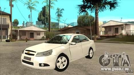 Chevrolet Epica 2008 für GTA San Andreas