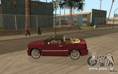 Chrysler 300c Roadster Part2 pour GTA San Andreas laissé vue