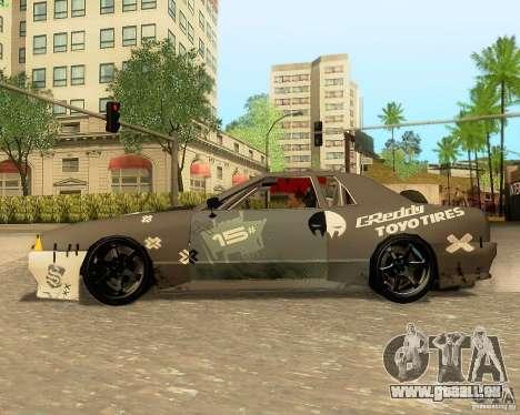 Elegy Drift Korch für GTA San Andreas Innen