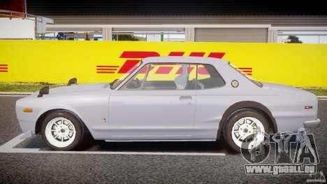 Nissan Skyline 2000 GT-R Drift Tuning für GTA 4 linke Ansicht