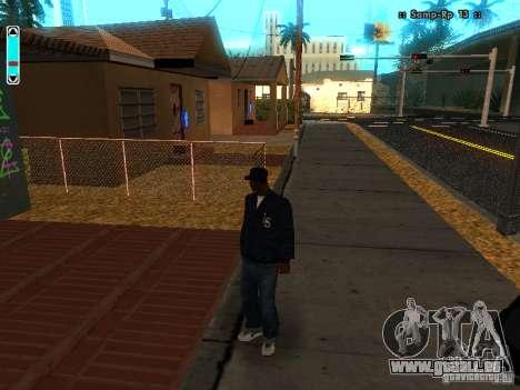 Eine neue Schnittstelle für SAMP für GTA San Andreas zweiten Screenshot