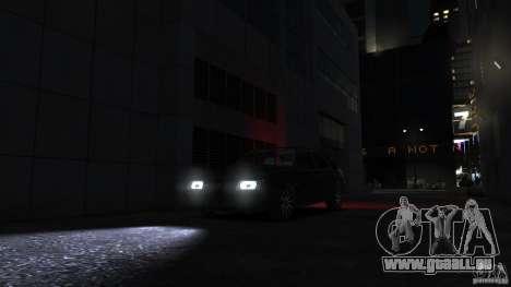 VAZ 2109 léger tuning pour GTA 4 est un côté