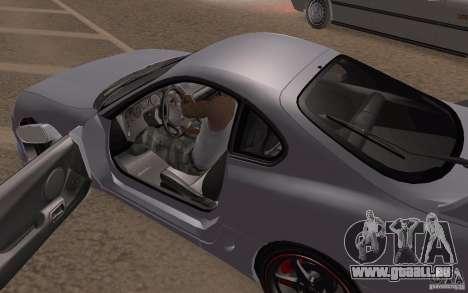 Toyota Supra Mark IV pour GTA San Andreas vue intérieure