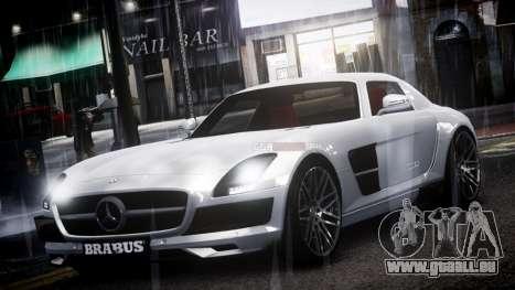 Mercedes-Benz SLS 2011 Brabus AMG Widestar v1.1 für GTA 4