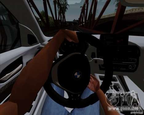 BMW M135i V1.0 2013 für GTA San Andreas Unteransicht