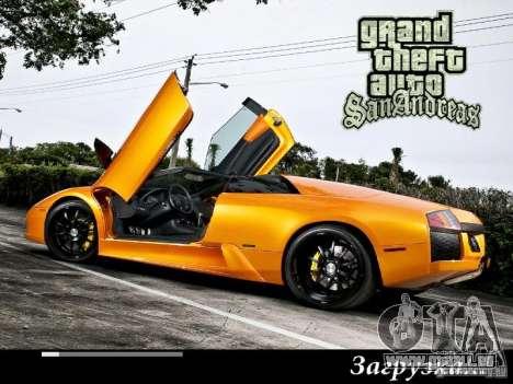 Neue Loading Screens 2011 für GTA San Andreas her Screenshot