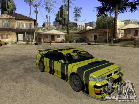 Vinyle pour Sultan pour GTA San Andreas
