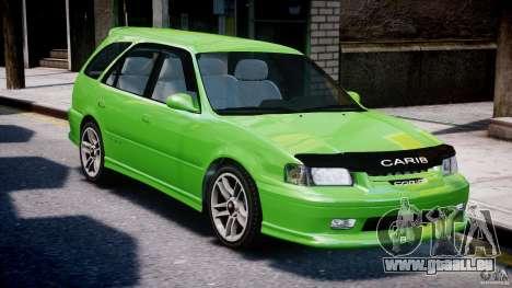 Toyota Sprinter Carib BZ-Touring 1999 [Beta] pour GTA 4 vue de dessus
