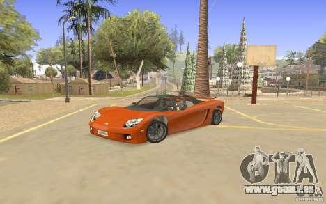 Veloche voiture pour GTA San Andreas