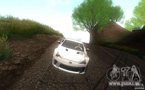 Lexus LFA pour GTA San Andreas vue de côté