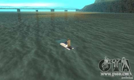 VCS Jetski pour GTA San Andreas laissé vue