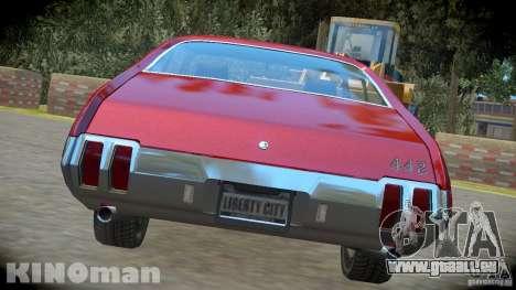 Oldsmobile 442 pour GTA 4 est une gauche