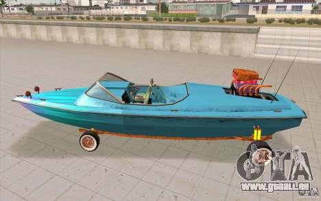 Hot-Boat-Rot für GTA San Andreas linke Ansicht