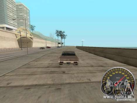 Lamborghini-Tachometer für GTA San Andreas her Screenshot