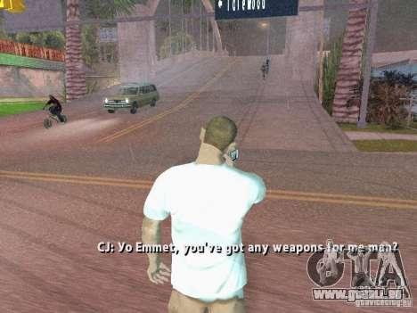 Nokia N8 pour GTA San Andreas troisième écran