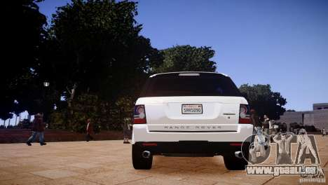 Range Rover Sport Supercharged v1.0 2010 für GTA 4 rechte Ansicht