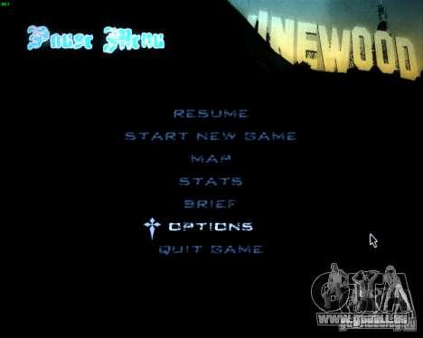 HUD von Silvestro für GTA San Andreas zweiten Screenshot