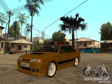 VAZ 2115 Tuning de voiture de Police pour GTA San Andreas