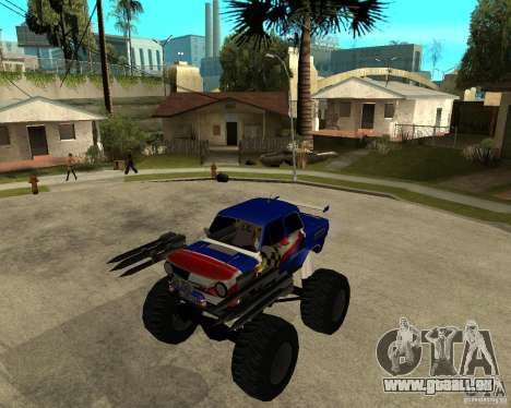 MONSTRE DE ZAZ pour GTA San Andreas