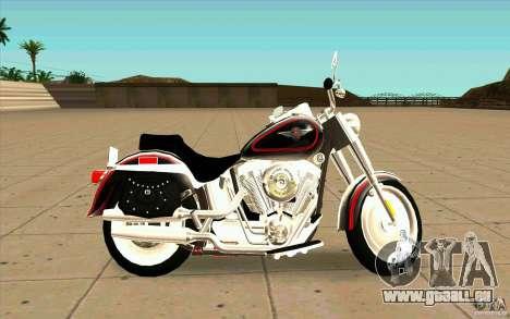 Harley Davidson FatBoy (Terminator 2) pour GTA San Andreas laissé vue