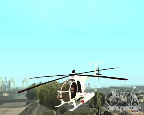 AH-6C Little Bird pour GTA San Andreas
