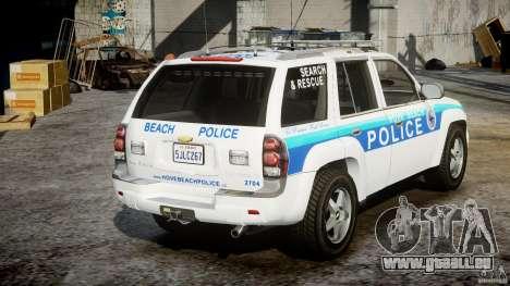 Chevrolet Trailblazer Police V1.5PD [ELS] pour GTA 4 est un côté